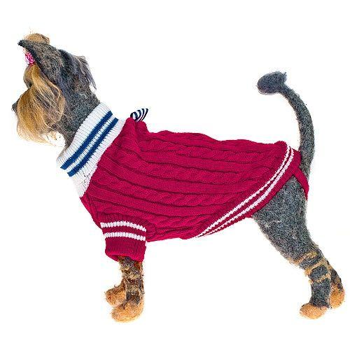 Пуловер для собак HAPPY PUPPY Комфорт-3 девочка 28см цена