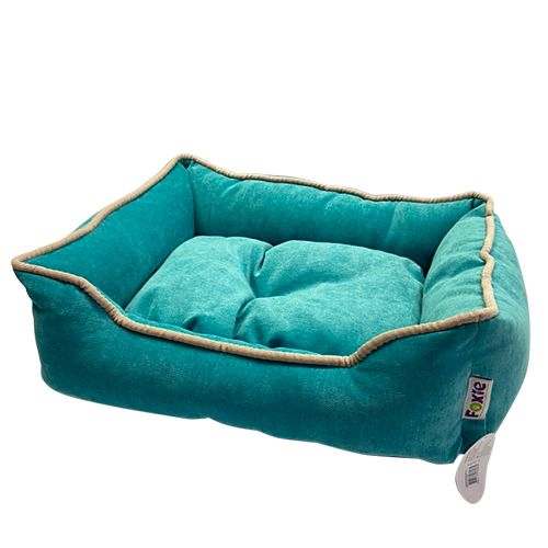 Фото - Лежак для животных Foxie Colour 70х60х23см бирюзовый лежак для животных foxie leather 70х60х23см красный