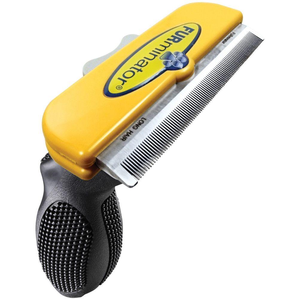 Фото - Фурминатор для собак FURminator для длинношерстных крупных пород 10см фурминатор для собак furminator для длинношерстных мелких пород 4см