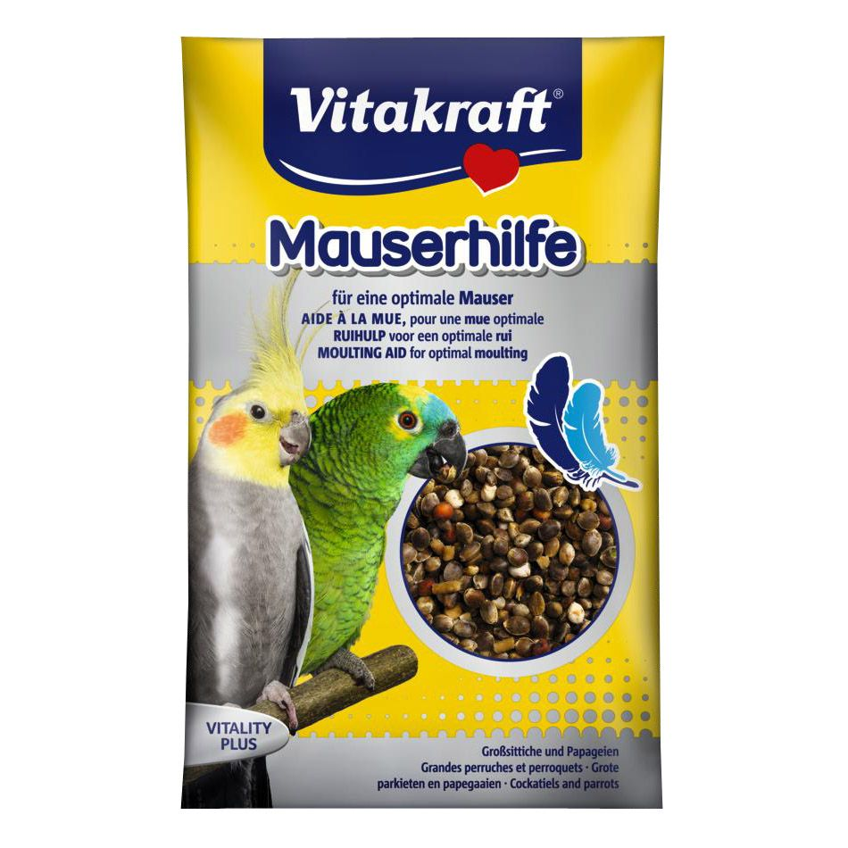 Подкормка для птиц VITAKRAFT крупных и средних попугаев 25г