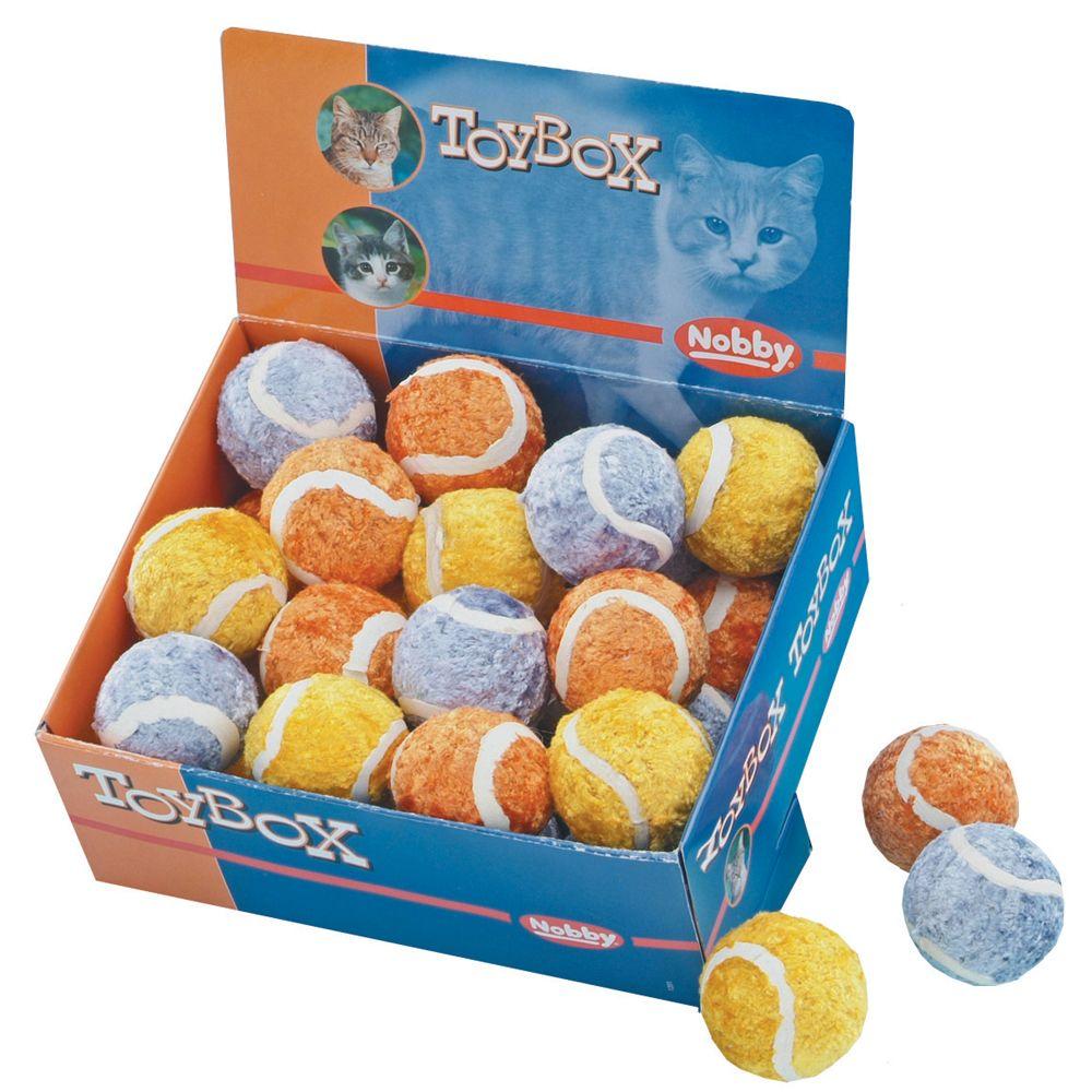 Игрушка для кошек Nobby 79574 Мяч теннисный 4см