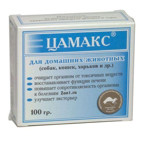 Кормовая добавка Цамакс для животных 100г левомеколь для животных