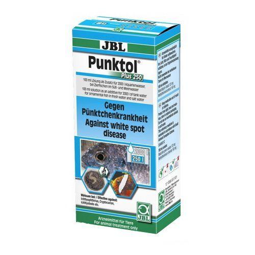 цена на Препарат JBL Punktol Plus 250 против ихтиофтириоза и других эктопаразитов, 100мл на 2000л