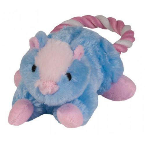 Игрушка для собак CHOMPER Puppy Енот с кольцом из каната игрушка chomper puppy кролик с кольцом из каната