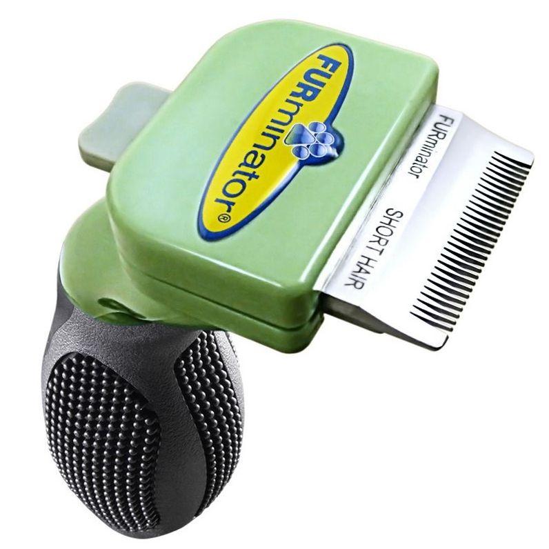 Фото - Фурминатор для собак FURminator для короткошерстных карманных 3см фурминатор для маленьких кошек furminator 136866