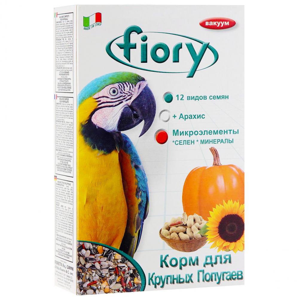 Корм для птиц Fiory Смесь для крупных попугаев 700г