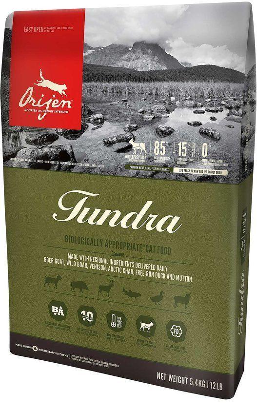 Корм для кошек Orijen Tundra (85/15) сух. 5,4кг цена