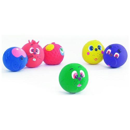 Игрушка для собак TRIXIE Мяч-мордочка латекс 1шт цена