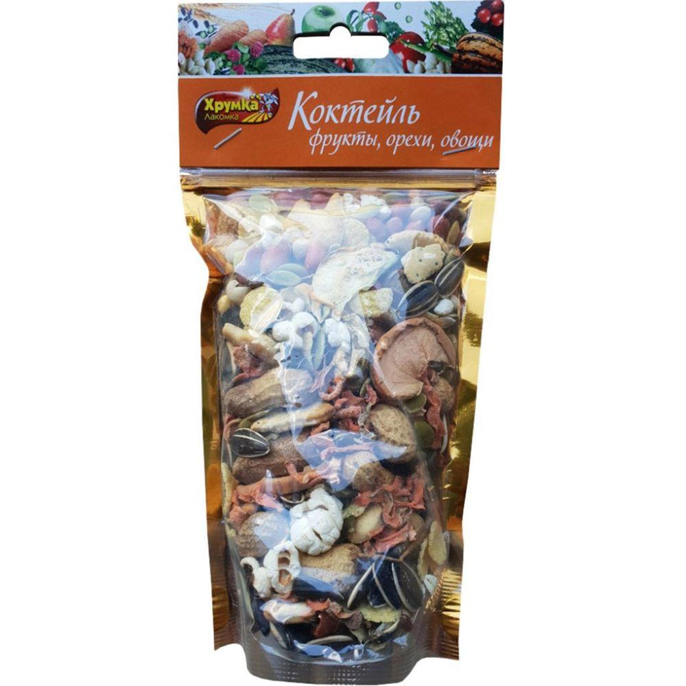 Лакомство для грызунов ХРУМКА-ЛАКОМКА Коктейль фрукты, орехи, овощи 160г