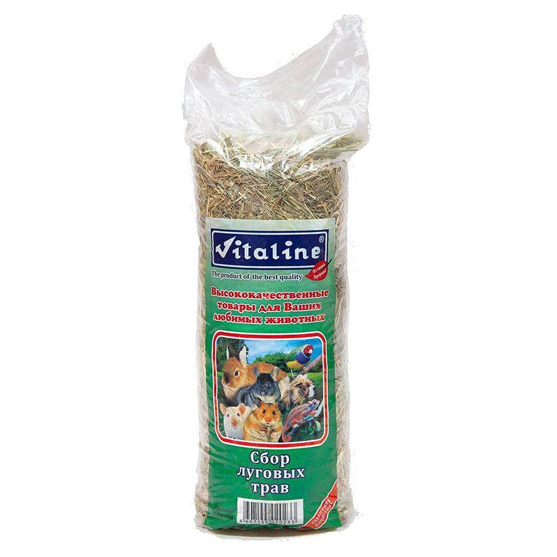 Корм для грызунов VITALINE сено 14,7л сено vitaline сбор луговых трав 3 кг