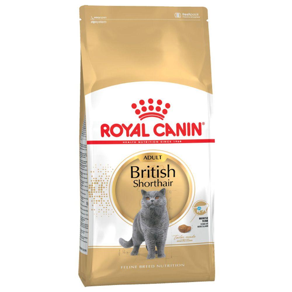 Корм для кошек ROYAL CANIN British Shorthair Adult для британских короткошёрстных сух. 4кг royal canin royal canin british shorthair 34 для породы британская короткошерстная старше 12 мес 4кг