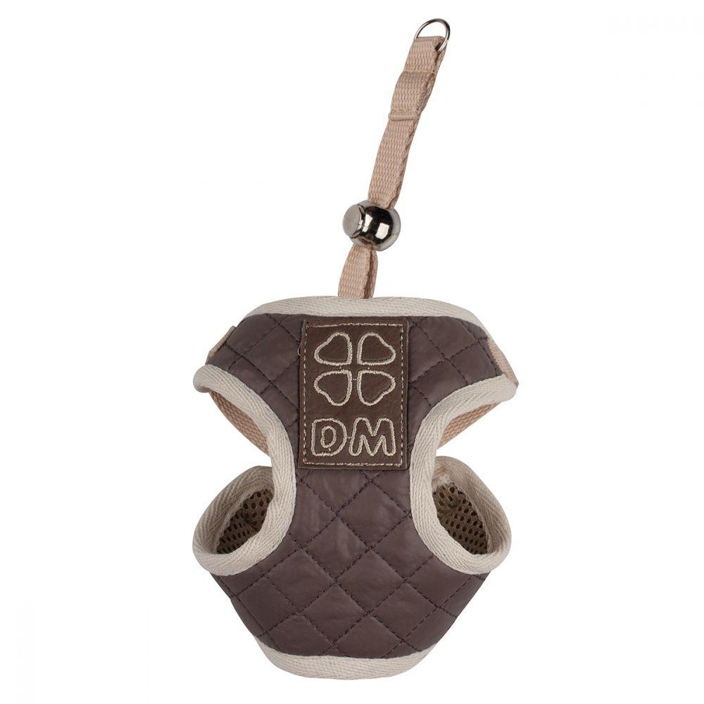 Шлейка для собак Dogmoda Стеганая-4 19см шлейка жилет для собак dogmoda клетка бордо 2 16см
