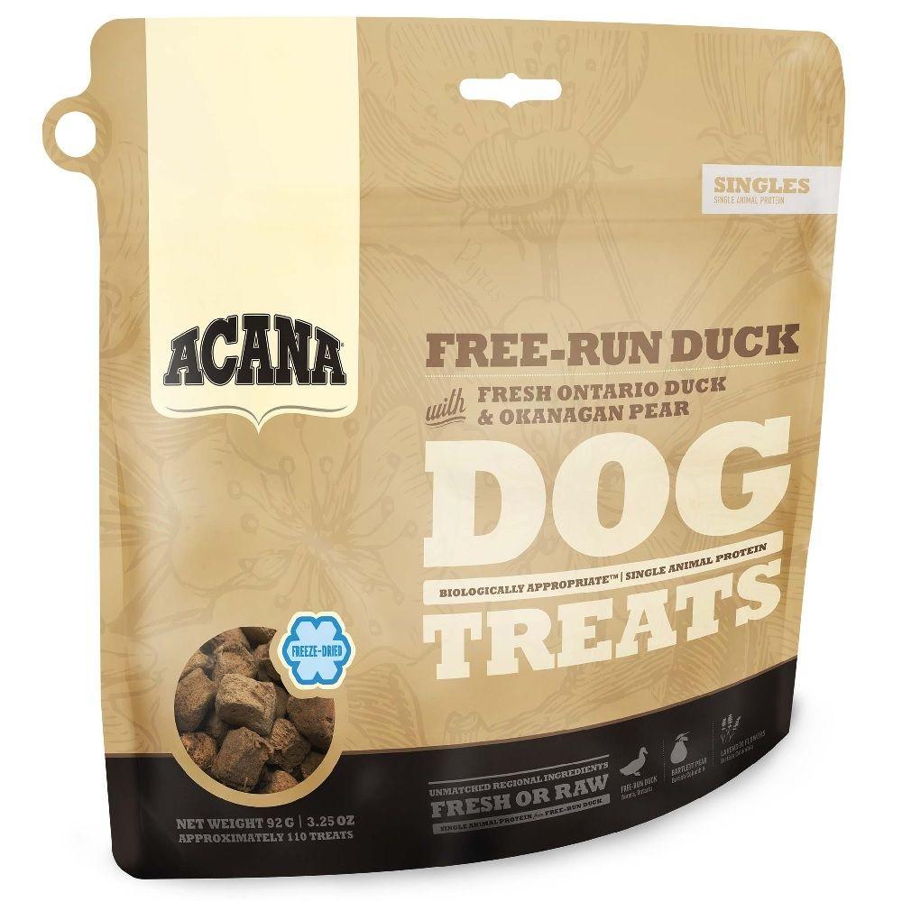 Лакомство для собак ACANA Утка 92г цена