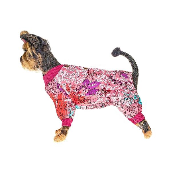 Комбинезон для собак HAPPY PUPPY Миледи-3 28см лежак для собак happy puppy узоры 3 57х44х15см