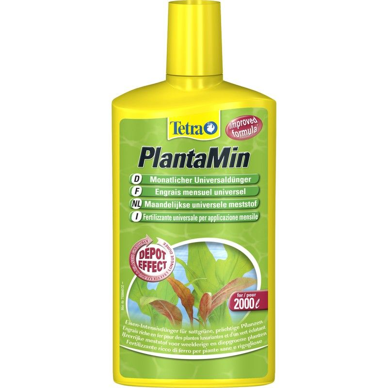 Подкормка для растений TETRA PlantaMin 500мл от Бетховен