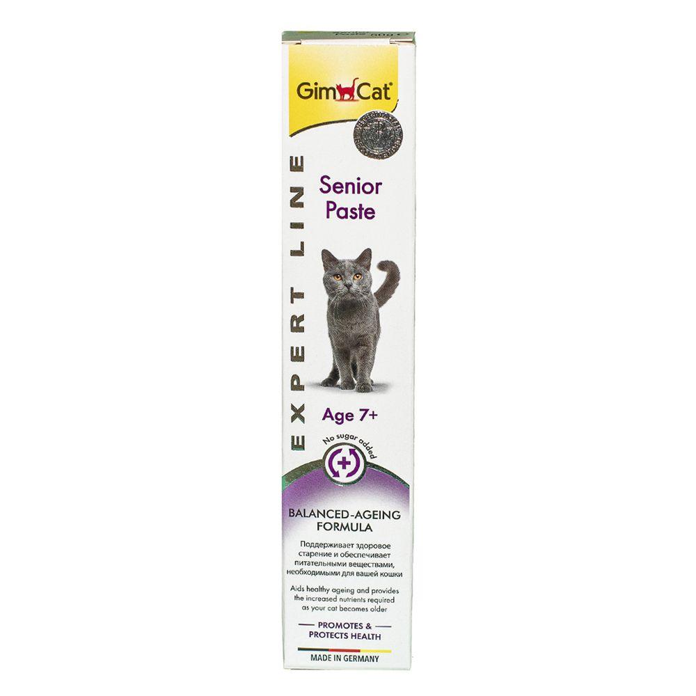 Паста для кошек GIMCAT Expert Line Сеньор 7+ 50г финалгель 50г