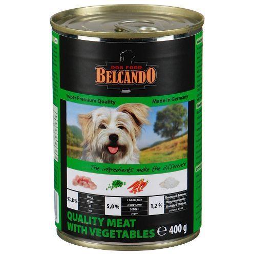 Корм для собак Belcando Мясо, овощи конс. 400г