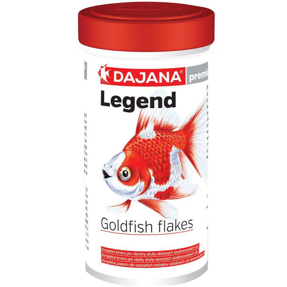 Корм для рыб DAJANA Legend Goldfish Flakes Хлопья для золотых рыб 100мл