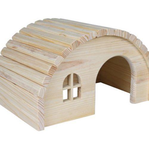 Домик для грызунов TRIXIE для хомяков 19х11х13см деревянный