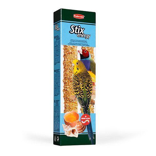 Лакомство для птиц Padovan Крекеры с аминокислотами для волн.попугаев и экзотических птиц 60г