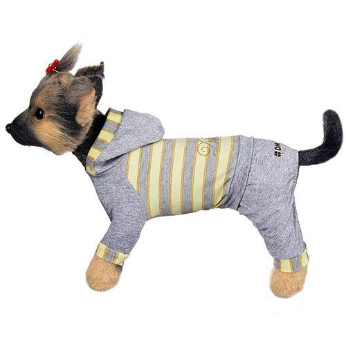 Комбинезон для собак Dogmoda Грей трикотажный размер 4 цена