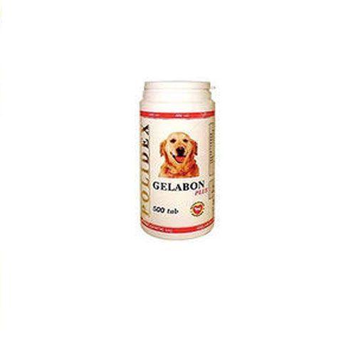 Витамины для собак POLIDEX Гелабон плюс 500таб