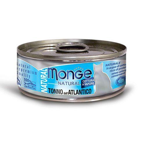Фото - Корм для кошек Monge Cat Natural атлантический тунец конс. корм для кошек monge cat natural тунец с курицей иговядиной конс