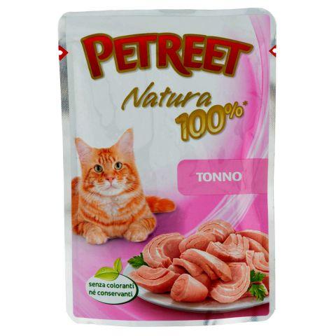 цена Корм для кошек PETREET Natura Лосось пауч 70г онлайн в 2017 году