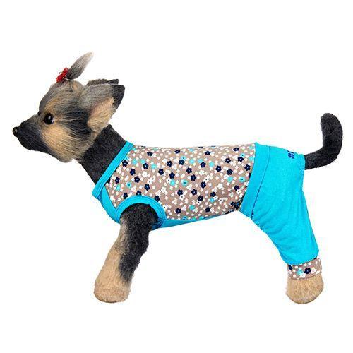 Комбинезон для собак Dogmoda Алекс трикотажный размер 4 32см