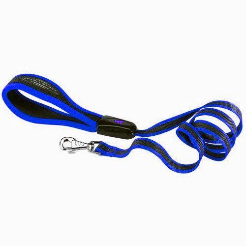 Поводок для собак FERPLAST Ergotattoo G15/120 синий