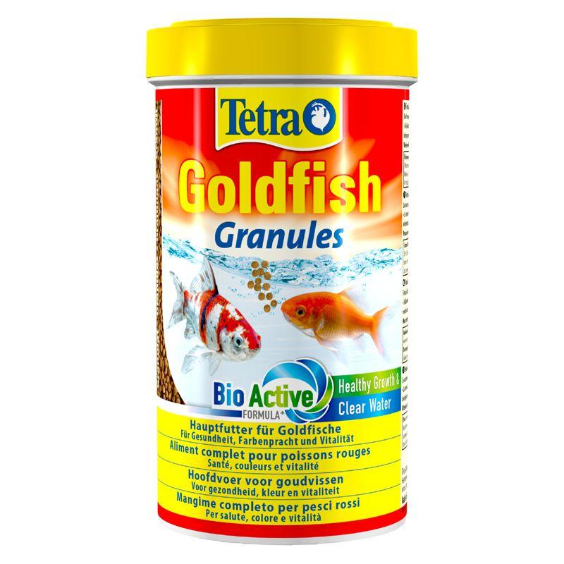 Корм для рыб TETRA Goldfisch granules основной корм в гранулах для золотых рыб 500мл корм для крупных декоративных рыб tetra min xl granules