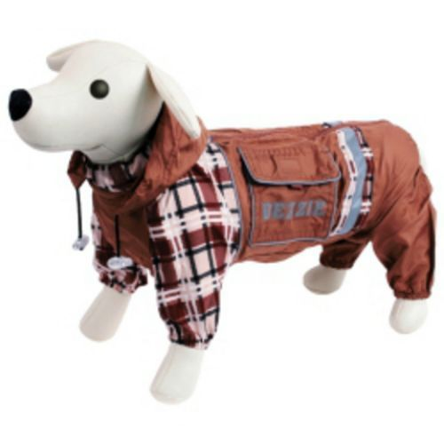 Комбинезон для собак DEZZIE Бультерьер мальчик болонья