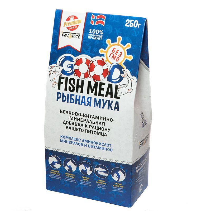 Белково-витаминно-минеральная добавка к рациону GOOD FISH MEAL Рыбная мука, 250г аккумулятор krutoff для apple iphone 4 4s 49242 49219