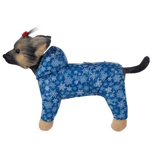 Комбинезон для собак Dogmoda Зима унисекс, размер 1 20см комбинезон для собак dogmoda сова унисекс цвет оранжевый бежевый размер 2 m
