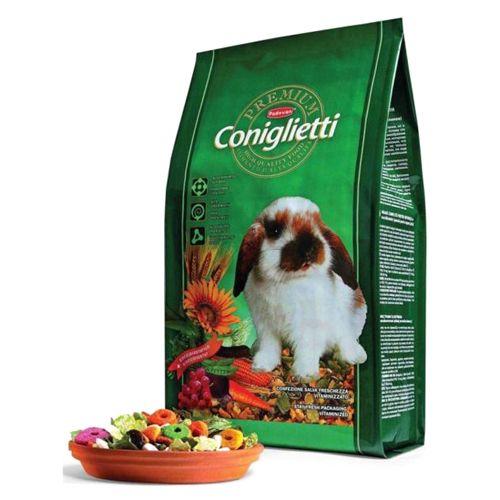 Корм для грызунов Padovan PREMIUM для кроликов сух. 2кг padovan лакомство padovan herbal treats melissa для грызунов и кроликов из трав с мелиссой и морковью 200 г