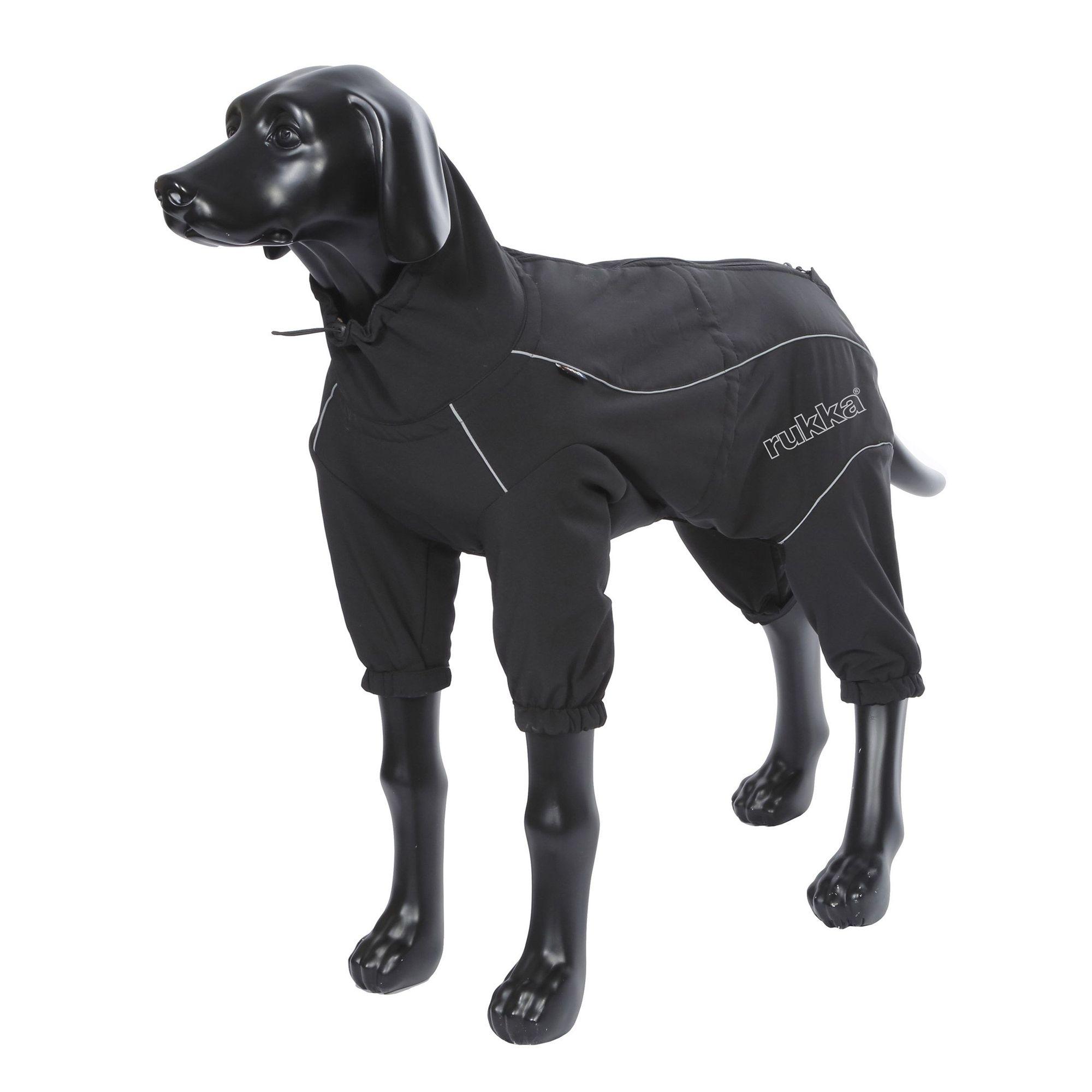 Комбинезон для собак RUKKA Thermal Overall черный 30см