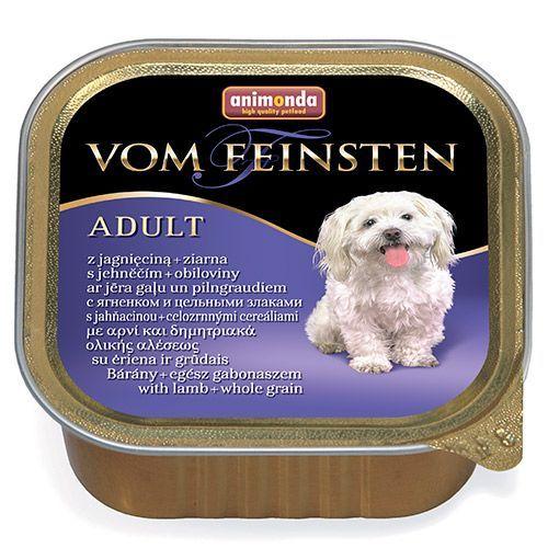 Корм для собак Animonda Vom Feinsten Menue Ягненок, цельные зерна конс.150г недорого