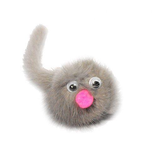 Игрушка для кошек GoSi Зверек из норки на картоне с еврослотом игрушка дразнилка для кошек gosi лапка норки длина 50 см