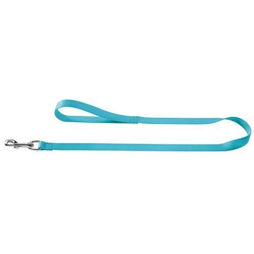 Поводок для собак HUNTER Ecco Sport 15/110, нейлон бирюзовый