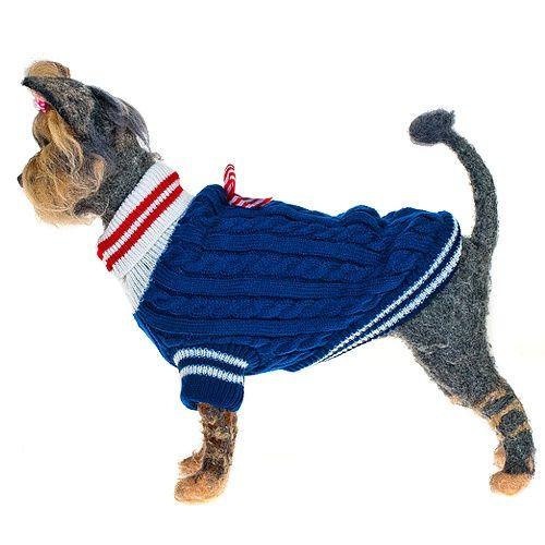 Пуловер для собак HAPPY PUPPY Комфорт-3 мальчик 28см