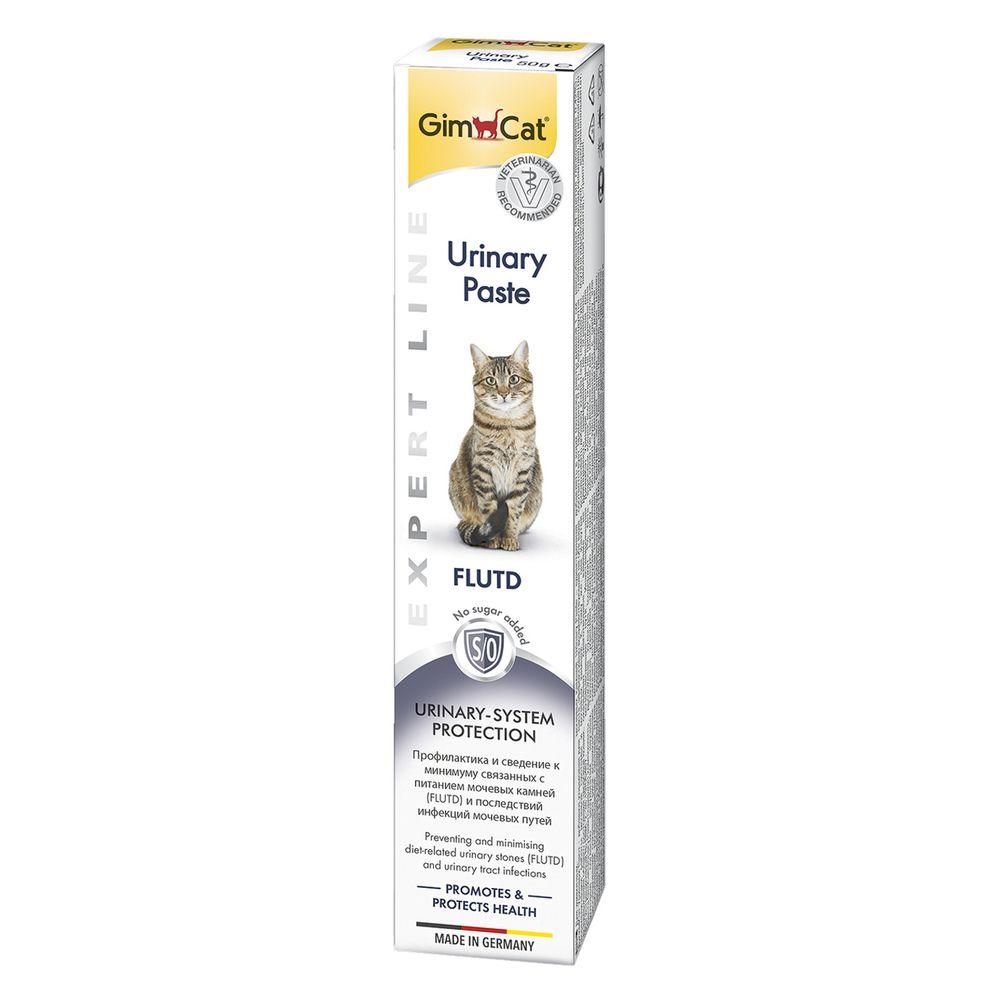 Паста GIMBORN GimCat Urinary для кошек 50г финалгель 50г