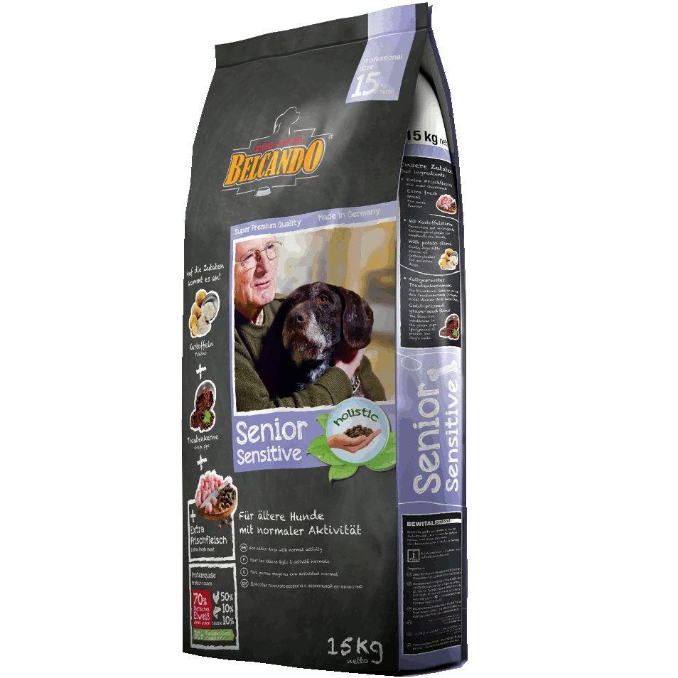 Корм для собак Belcando для пожилых и чувствительных собак сух. 15кг