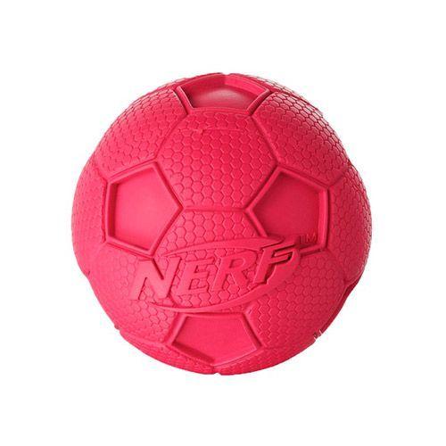 Игрушка для собак NERF Мяч футбольный пищащий 10см