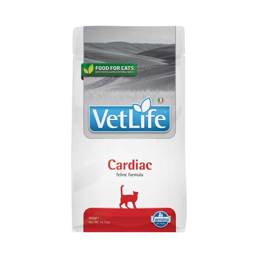 Фото - Корм для кошек Farmina Vet Life Natural Diet при заболеваниях сердца сух. 400г farmina farmina vet life natural diet cat obesity сухой корм для кошек при ожирении 5 кг