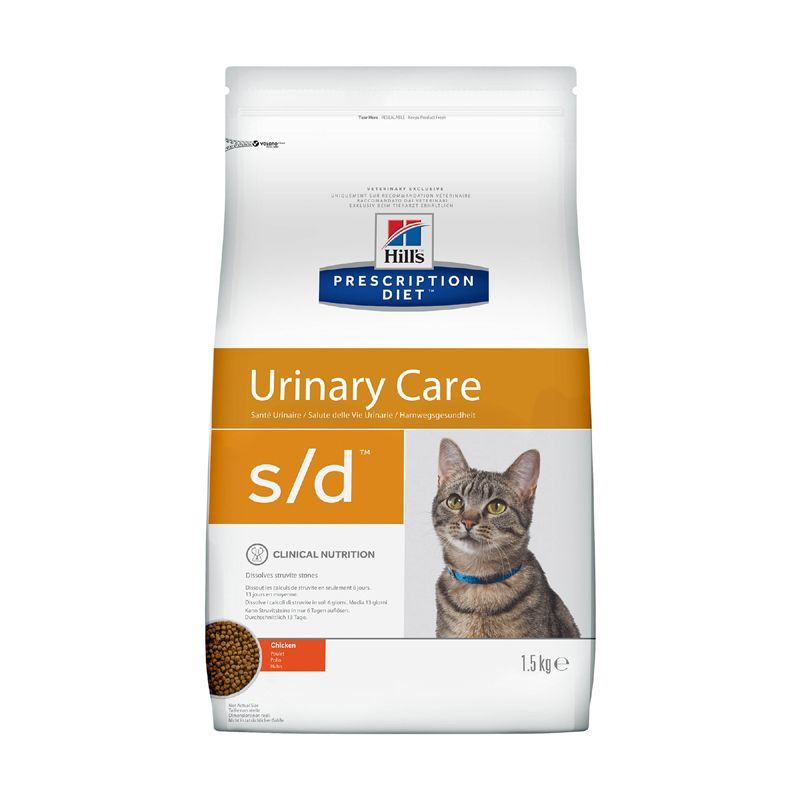 Корм для кошек Hill's Prescription Diet Feline S/D для растворения струвит.уролитов, курица сух. 1,5кг tara cottrell buddha s diet