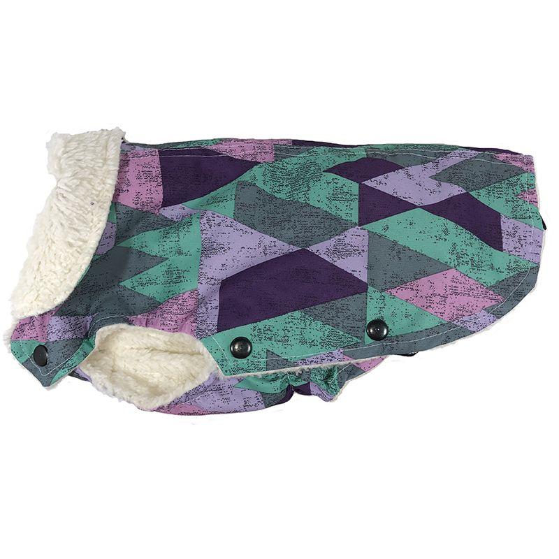 Попона для собак ДОГ МАСТЕР утепленная Принц размер L 28 см свитер для собак дог мастер поло размер l 28 см