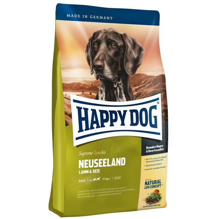 Корм для собак HAPPY DOG Новая Зеландия ягненок, рис сух. 4кг рис л холокост новая история