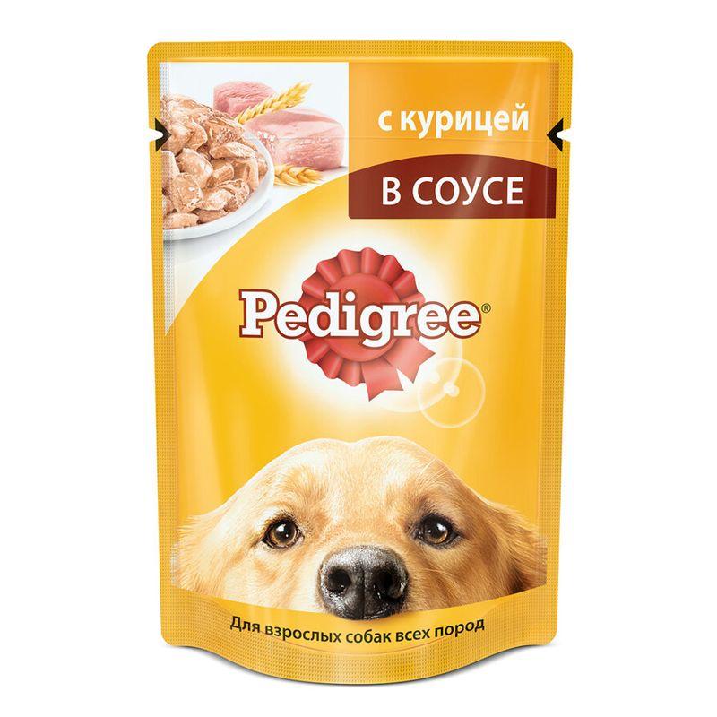 Корм для собак Pedigree Курица конс. 100г корм для собак pedigree кролик индейка конс 100г