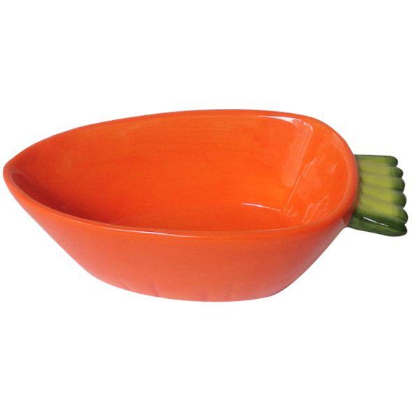 Миска для грызунов MAJOR Carrot керамическая 13х6х4см 150мл