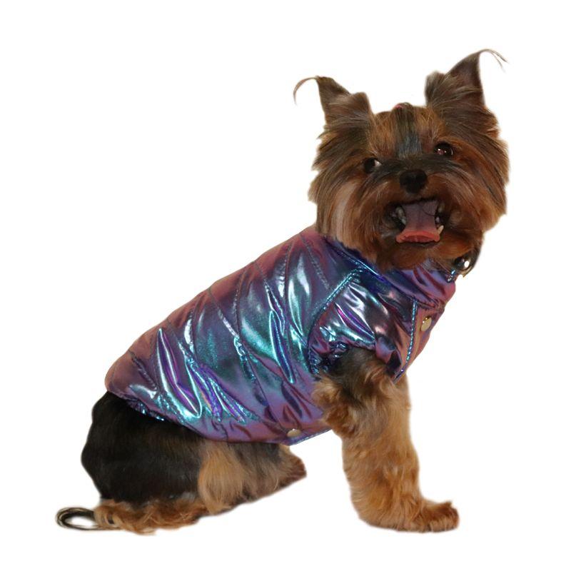 Куртка для собак YORIKI Хамелеон унисекс S 20 см комбинезон для собак yoriki космонавт унисекс s 20 см